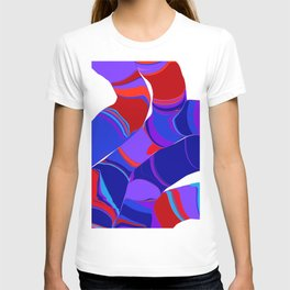 stripy strands T-shirt