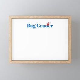 Bag Grader Ninja in Action Framed Mini Art Print