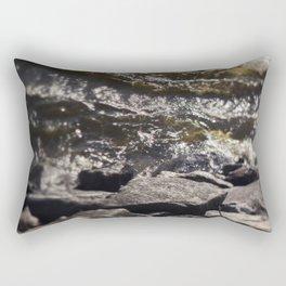 Torrent river Rectangular Pillow