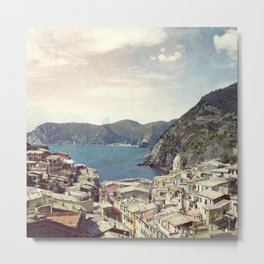 Vernazza Acquarello Metal Print