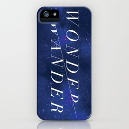 Wonder/Wander - Sky iPhone Case