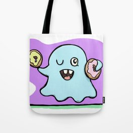 Is That More Food? The Elusive Donut Ghost. Tote Bag
