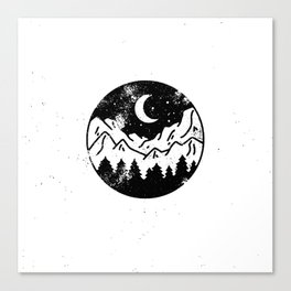 Night Canvas Print