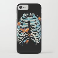 huebucket iPhone & iPod Cases featuring FISH BONE  by Huebucket