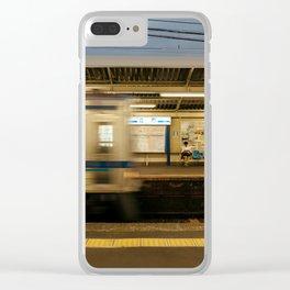 Keisei Blur Clear iPhone Case