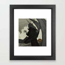 Mothman Returns Framed Art Print