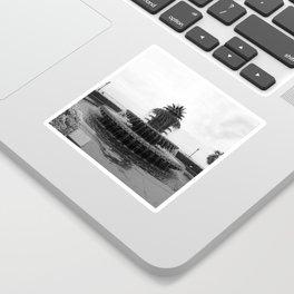 Pineapple Fountain Charleston River Park Sticker