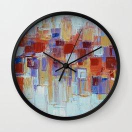 Organic Party No. 1 Wall Clock