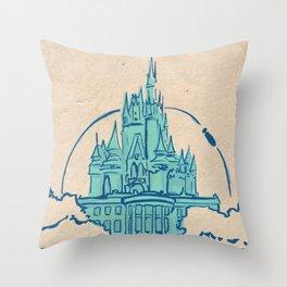 Magic Kingdom Throw Pillow