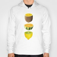 fruits Hoodies featuring Mixed Fruits by victor calahan