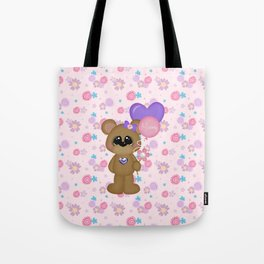 Mommy Bear Loves his Mommy Tote Bag
