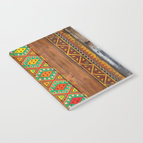Indian Wood Notebook