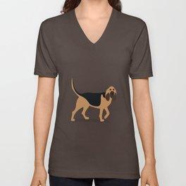 Bloodhound Unisex V-Neck