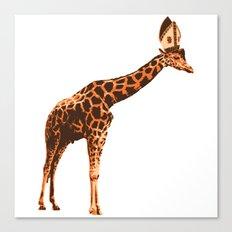 Giraffe Pope Canvas Print