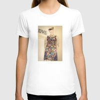 vogue T-shirts featuring Vogue by Carol Knudsen Photographic Artist