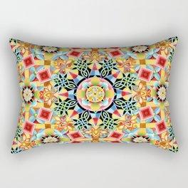 Nouveau Chinoiserie Rectangular Pillow