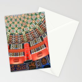 EPCOT China Pavilion Ceiling Stationery Cards
