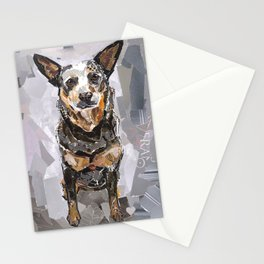 Sully The Heeler Stationery Cards