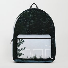 White Tipped Forest Backpack