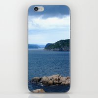 norway iPhone & iPod Skins featuring Landscape Norway by Christine baessler