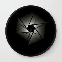 Lens Wall Clock