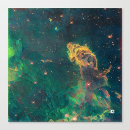 ALTERED Carina Nebula Canvas Print
