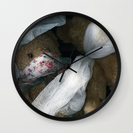 Must Be Silent Wall Clock