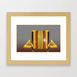 Frakblot Citadel Framed Art Print