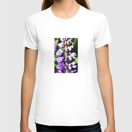 Lupine close up T-shirt
