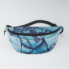 Space Art Astronaut Drawing Fanny Pack