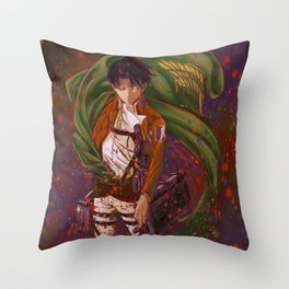 Attack On Titan - Levi Ackerman (Version 3/5) Throw Pillow