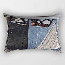 The Garbage Bin Rectangular Pillow