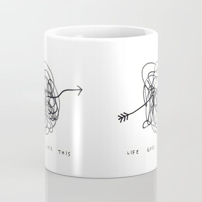 life goes like this Coffee Mug