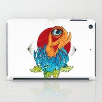 hamsa iPad Cases featuring Hamsa by missfortunetattoo