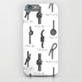 Nautical Knots iPhone Case