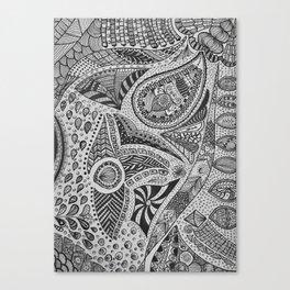 Mind Of Mine Canvas Print