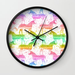 Unicorn Dreams Wall Clock
