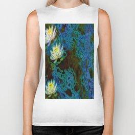 Water Lilies Biker Tank