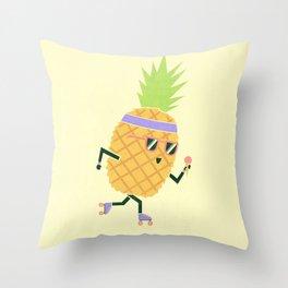 Summer Rollin Throw Pillow