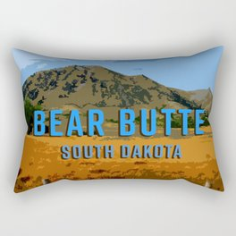 Bear Butte South Dakota Rectangular Pillow