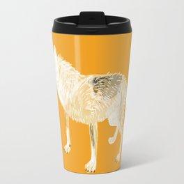 Totem white wolf Travel Mug