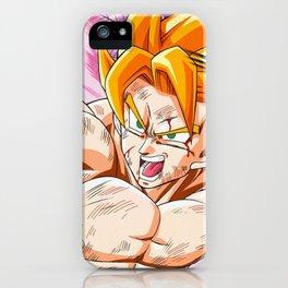 Goku Kame Hame iPhone Case