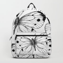 Cabbage butterfly Backpack