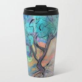 Divi Divi Tree at Sunset Travel Mug