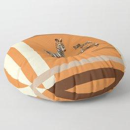 Butterscotch Stripes Floor Pillow