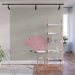 Pig Wall Mural