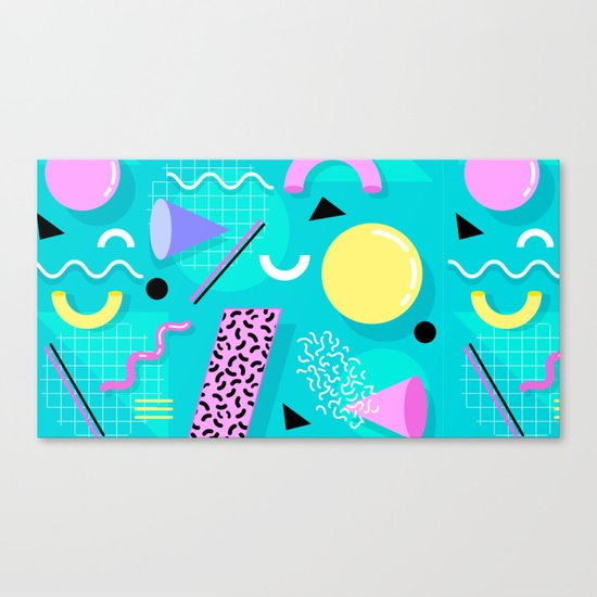 Memphis Canvas Print