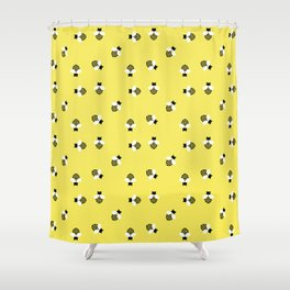 Save the Bees! Shower Curtain
