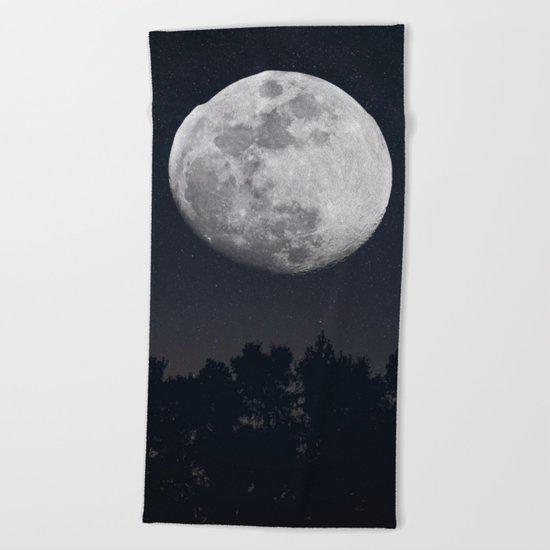 Moon Child Beach Towel