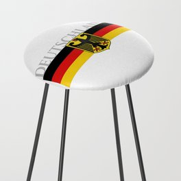 Deutschland ...German Flag and Eagle Counter Stool